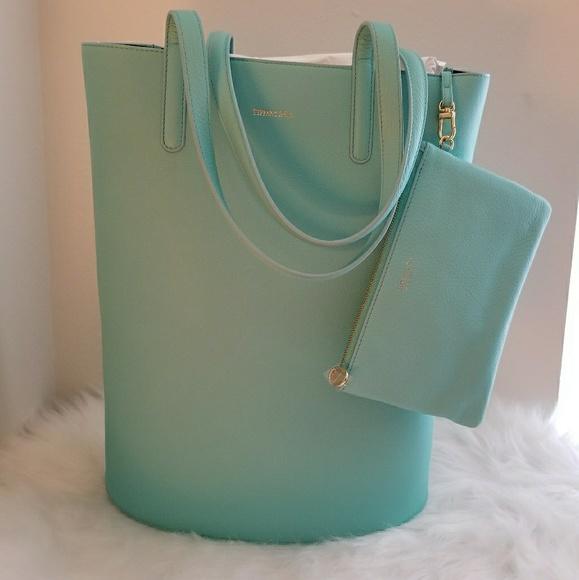 000ee992c8 Tiffany & Co. Bags | Tiffany Co Grained Leather Bag | Poshmark